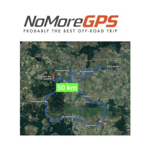 Road Book turystyczny 50 km. Suvem też można!