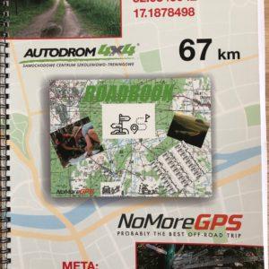 Road Book 67 km Autodrom4x4 -Puszczykowo. Śladami podróżnika .