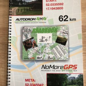 Road book 62 km Autodrom4x4-Autodrom4x4. Wiosenne bezdroża .
