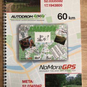 Road Book 60 km Autodrom4x4-Autodrom4x4. Tam i z powrotem.